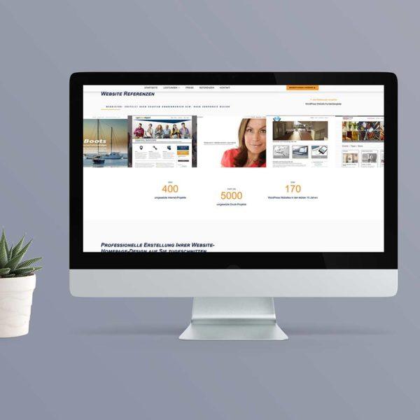Referenzen-Webdesign