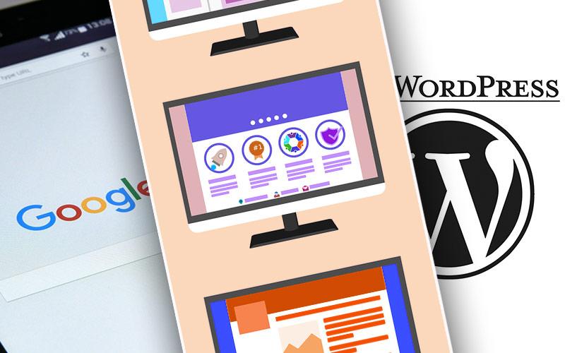 Vergleich-Google-Webpage,-Baukastensystem-und-WordPress-Website